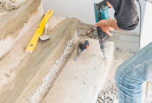 איך קודחים בבטון?